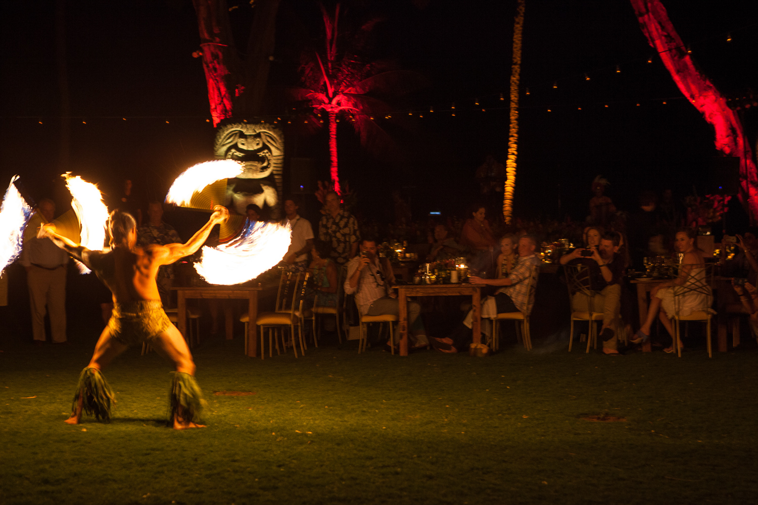 corporate event luau photo maui