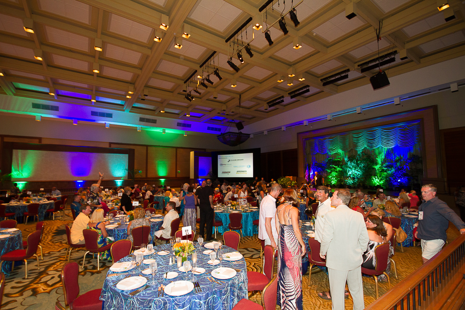 awards banquet corporate event photo