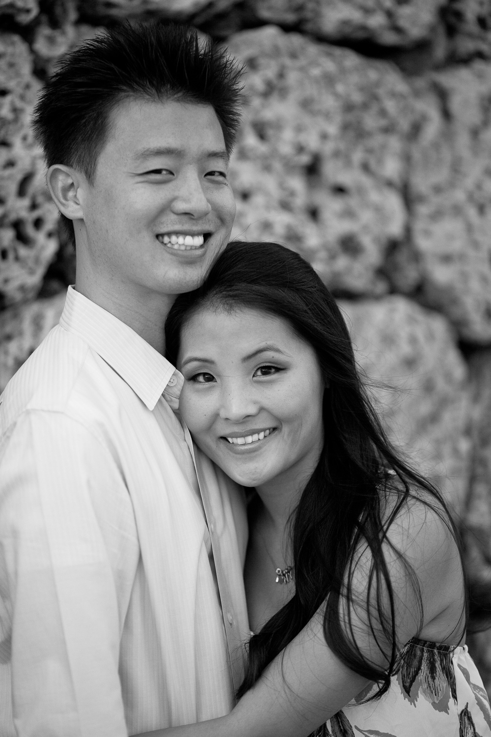 engagement black and white